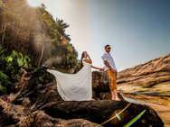 Veja o Pre wedding na Praia