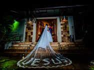 Véu da noiva escrito Jesus