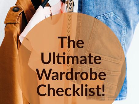 The Ultimate Wardrobe Checklist