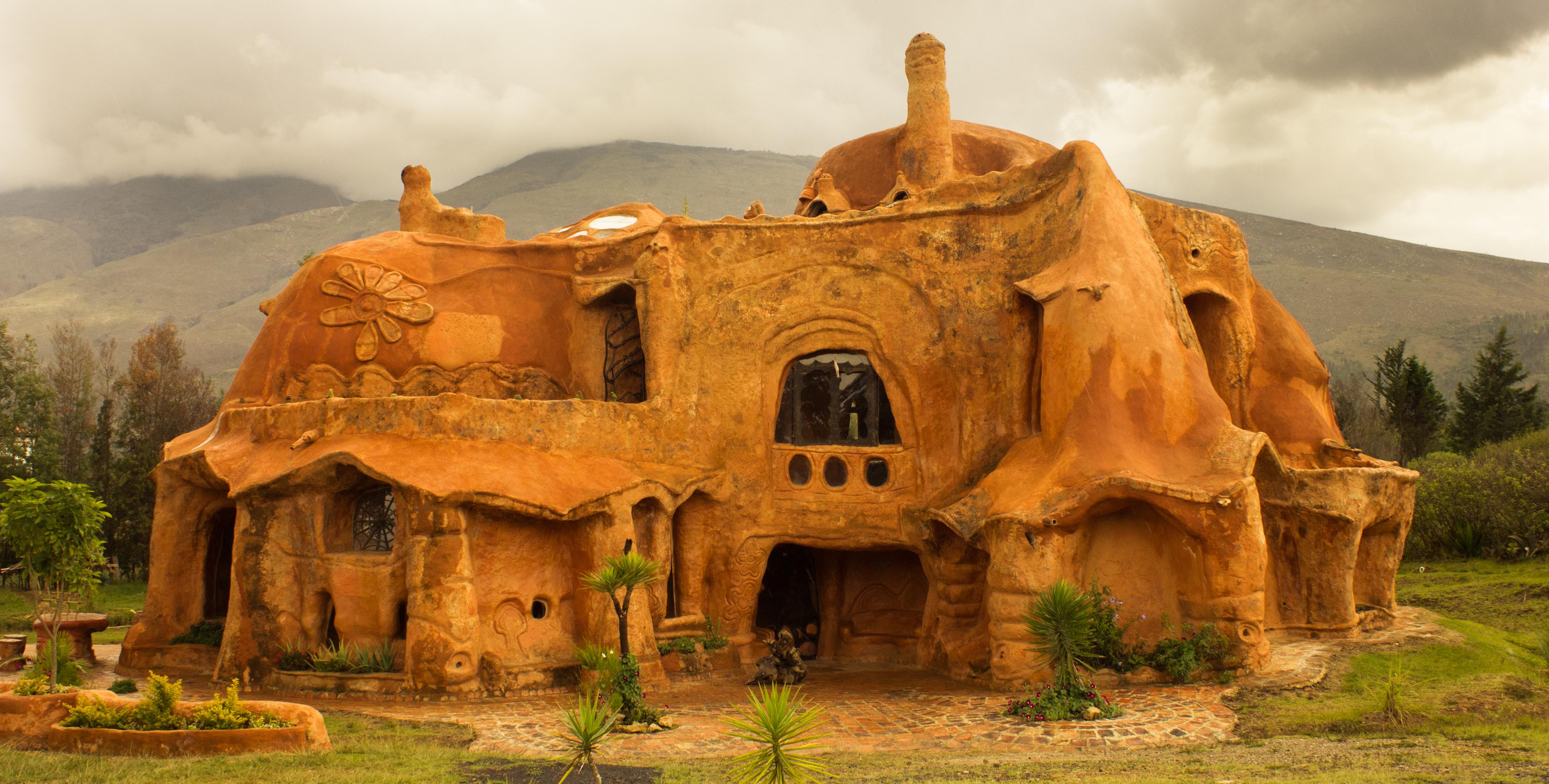 Casa de barro Villa de Leyva