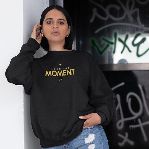 -Be in the MOMENT- Unisex Heavy Blend™ Crewneck Sweatshirt