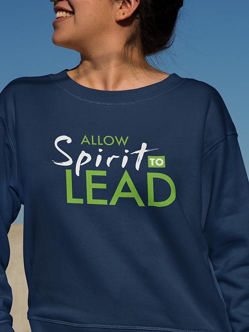 Allow Spirit to Lead Unisex Heavy Blend™ Crewneck Sweatshirt