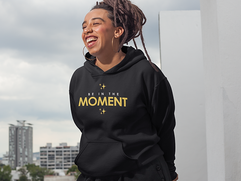 - Be In The Moment - Unisex Heavy Blend™ Hooded Sweatshirt