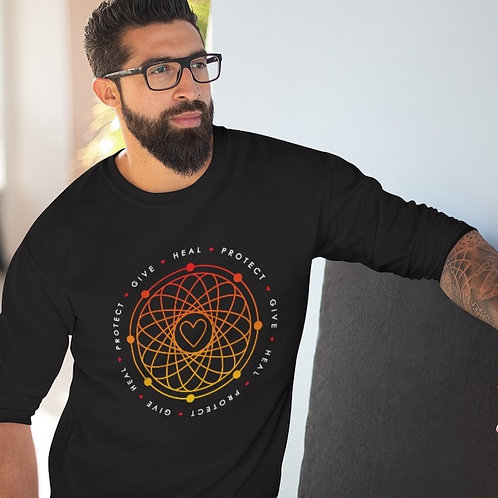 Give, Heal and Protect Your Heart Unisex Crew Neck Sweatshirt