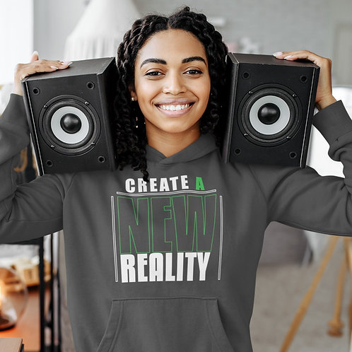 Create A New Reality Unisex Heavy Blend™ Hooded Sweatshirt