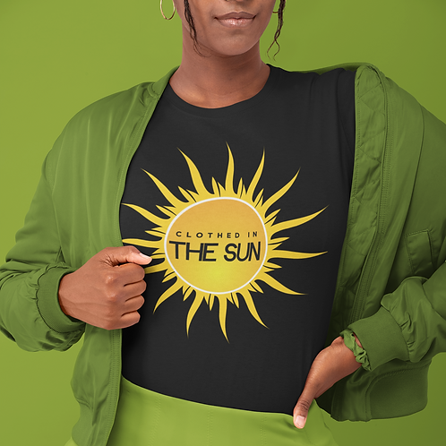 Clothed in the Sun Unisex Jersey Short Sleeve Tee