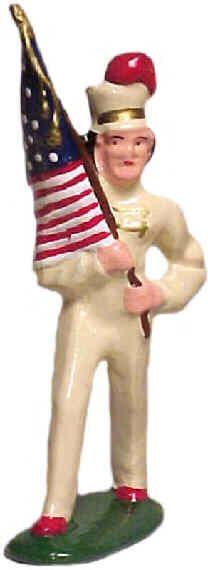 #044 - Girl Flagbearer