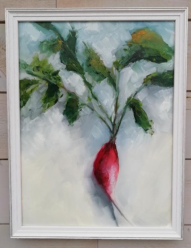 radis - tableau peinture