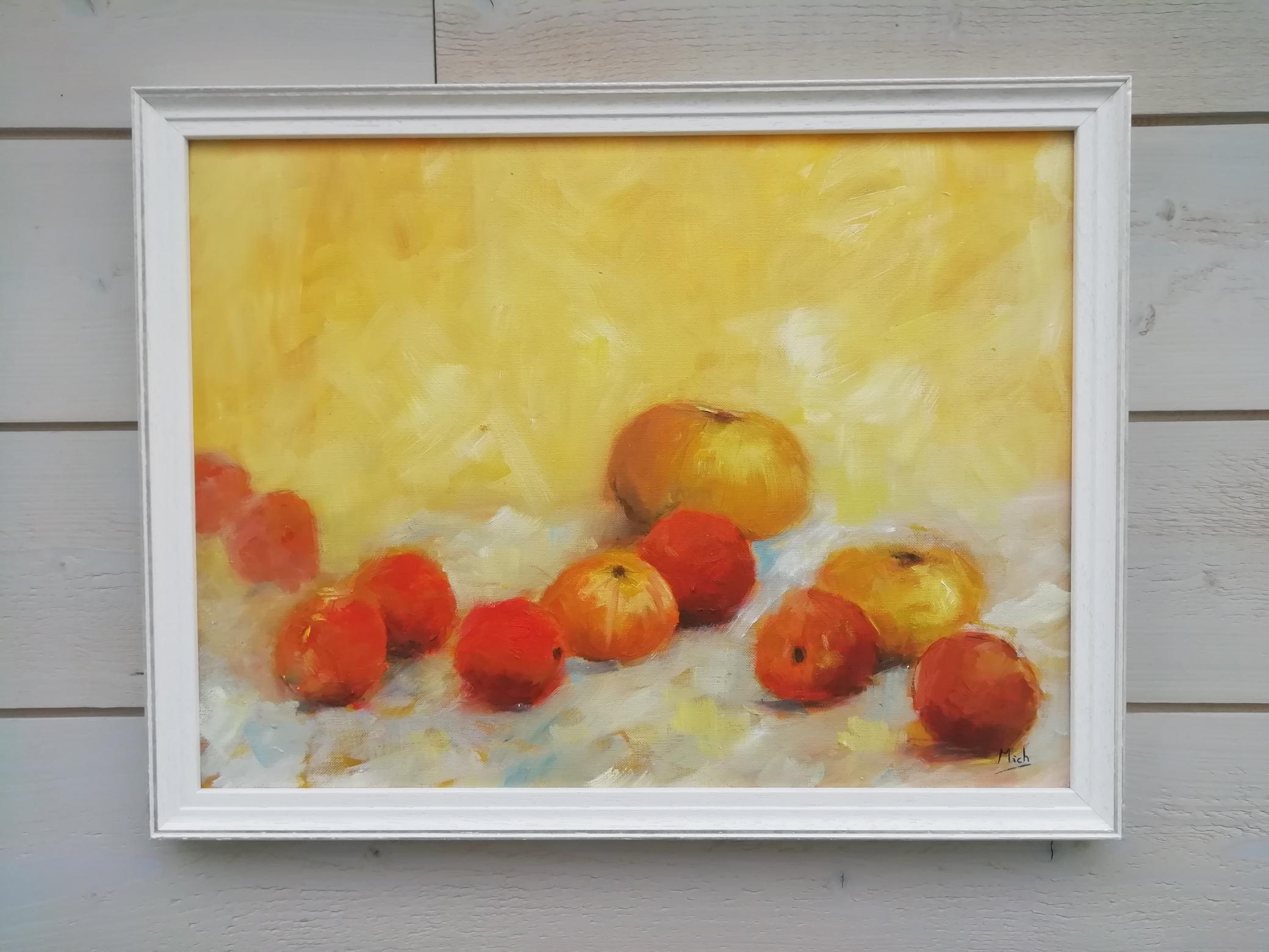 agrumes peinture contemporaine