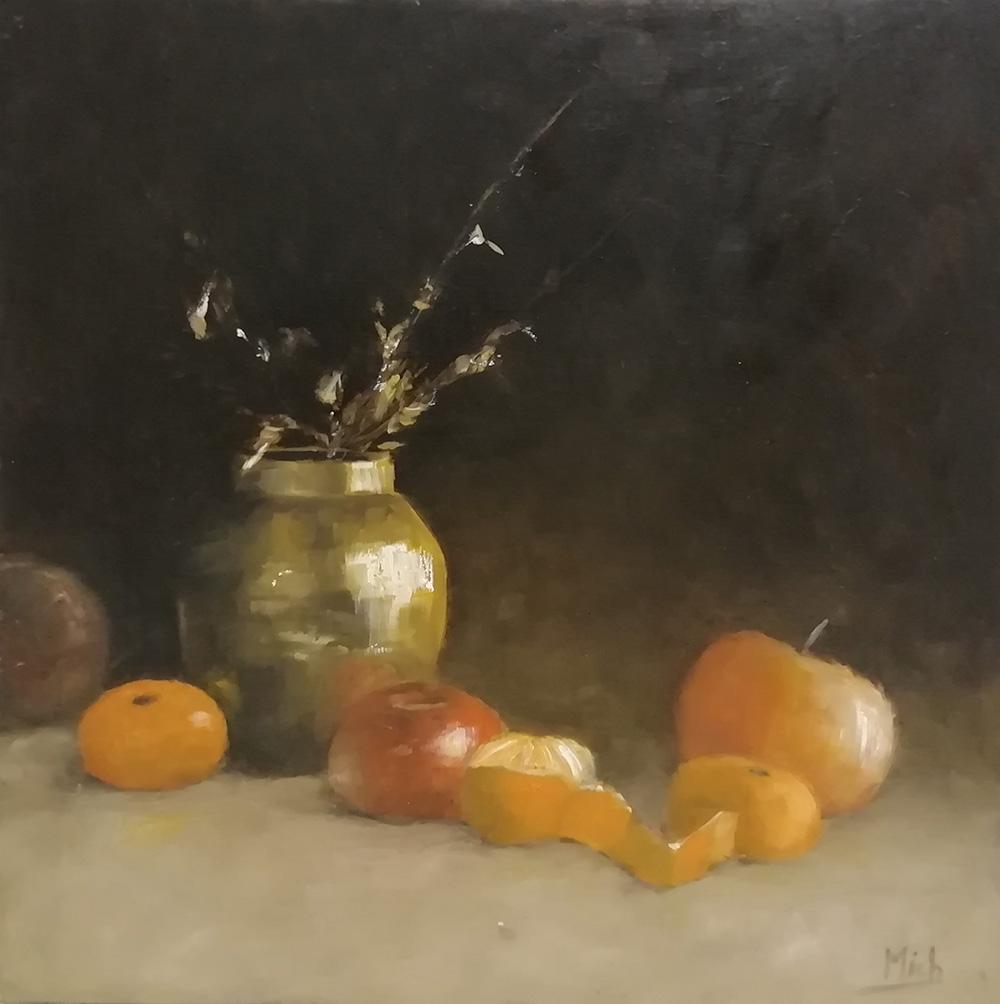 vase fruit oeuvre