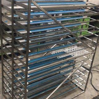 Acero inoxidable rack diseño especial