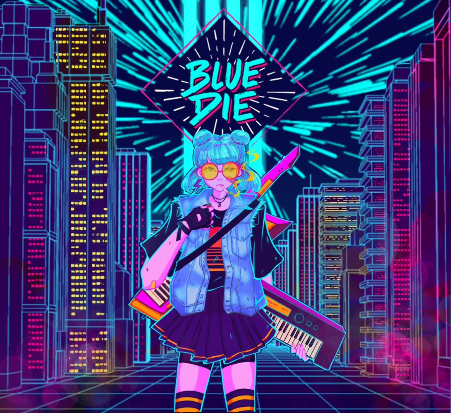 Blue Die Album Front Cover