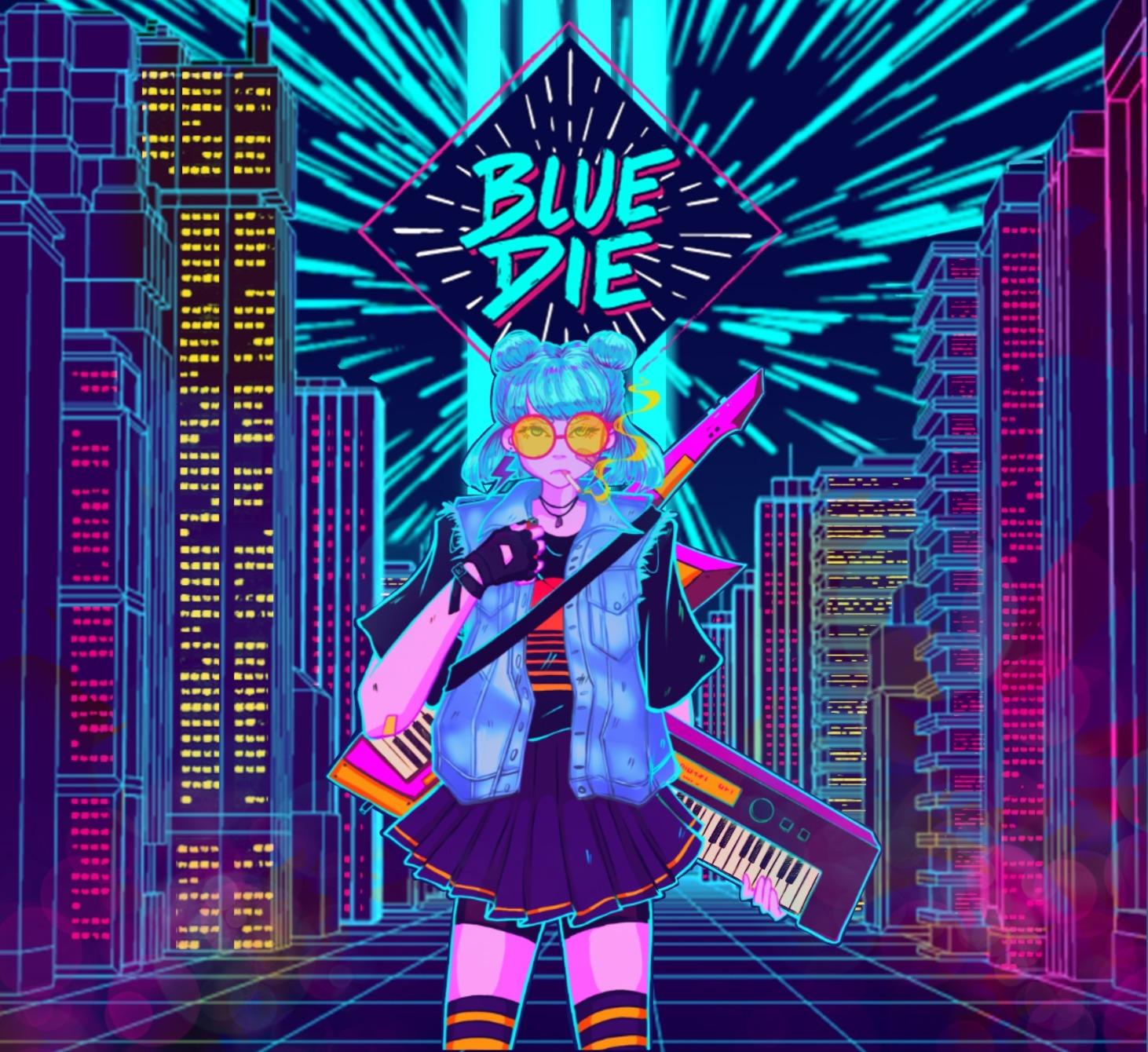 Blue Die Album Front Cover