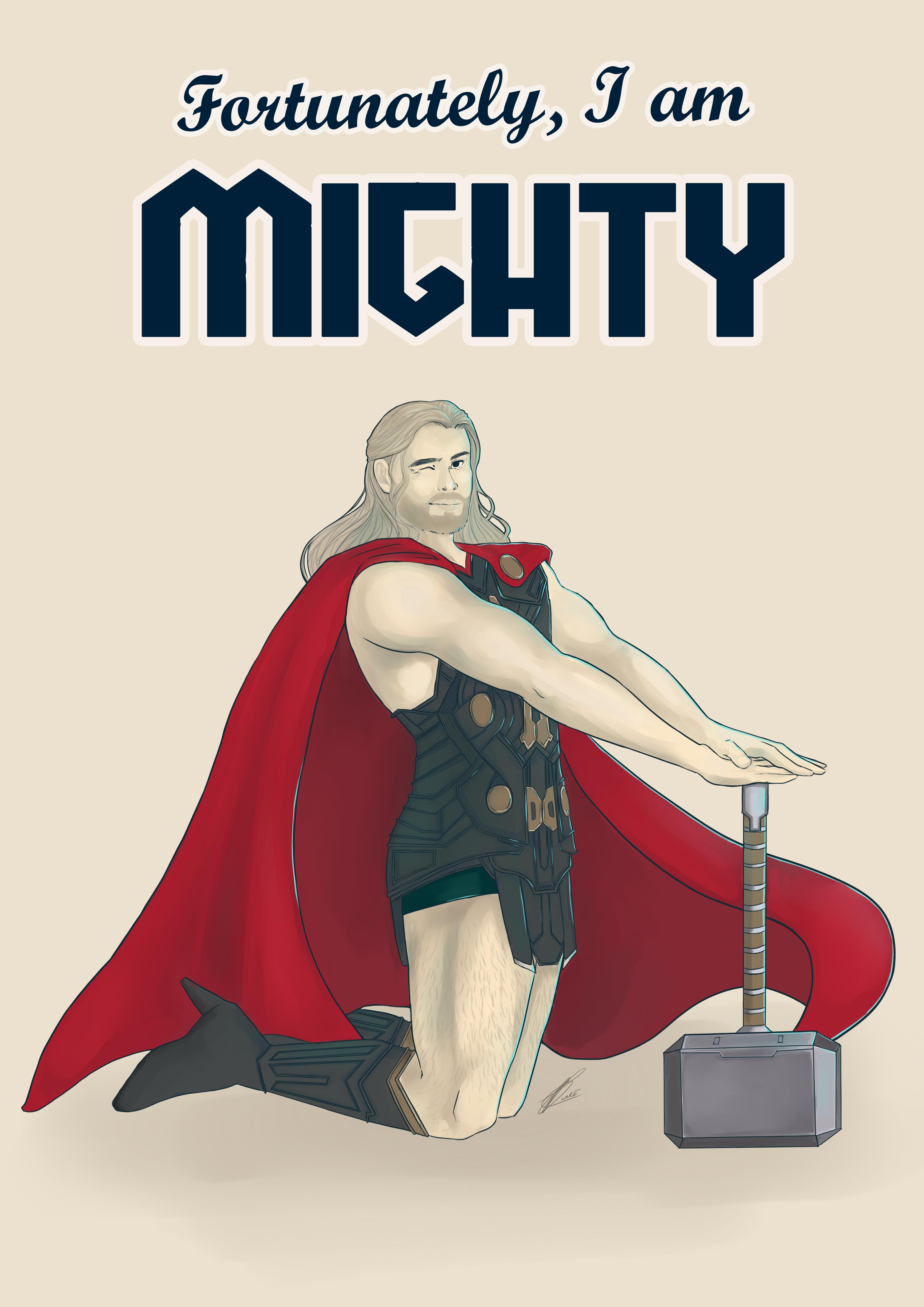 Thor Pin Up