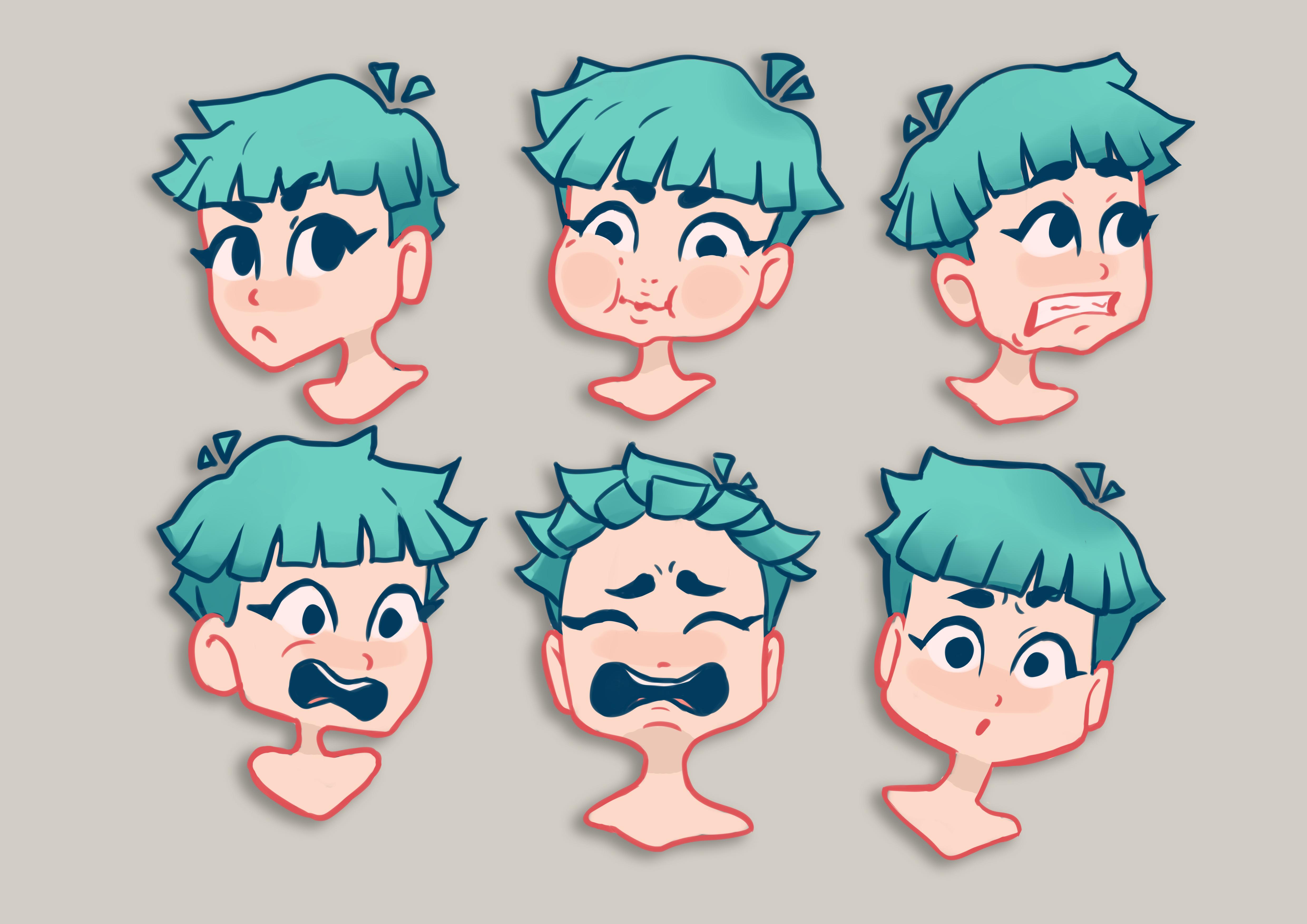 facial expressions 3