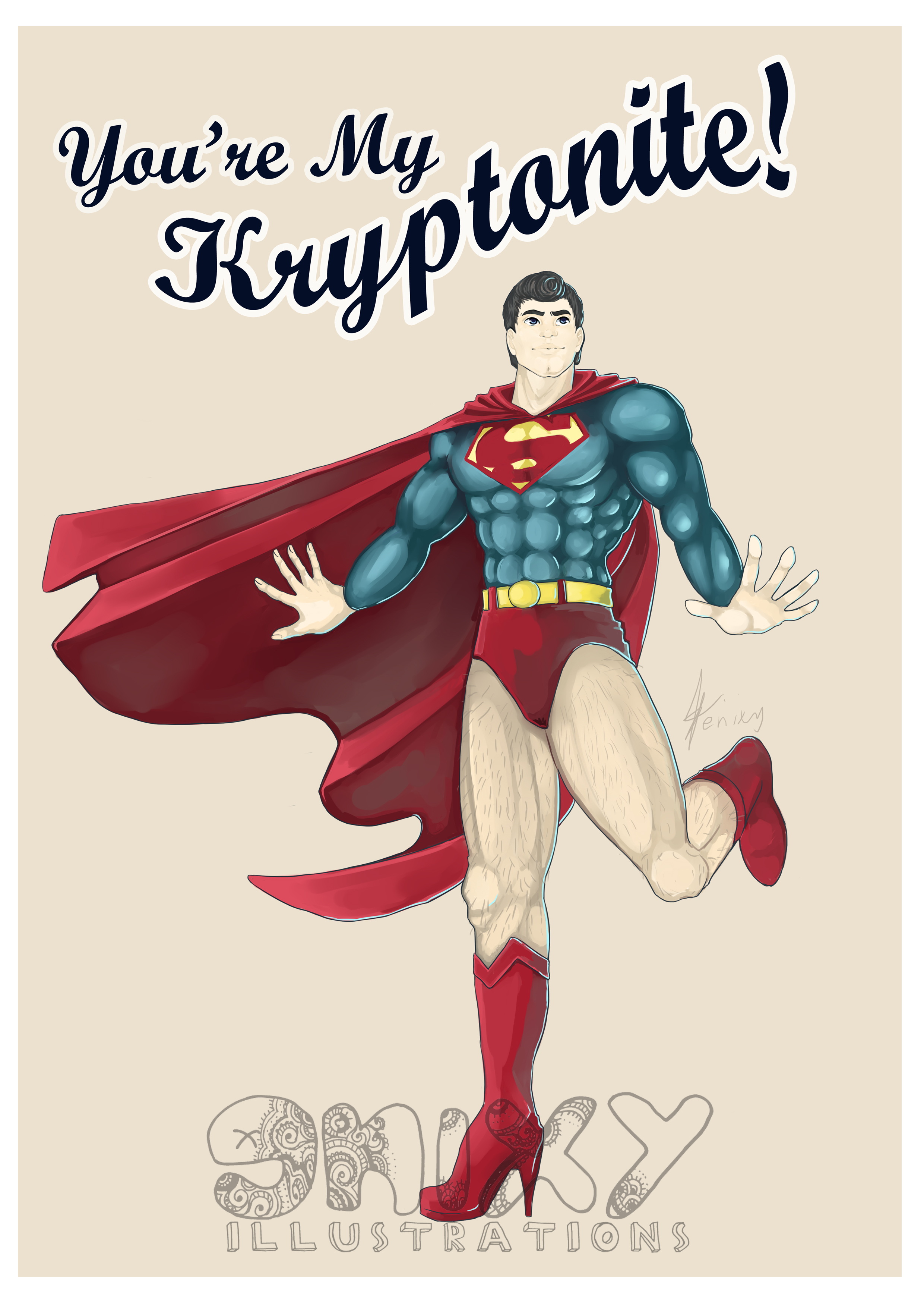 Superman Pinup