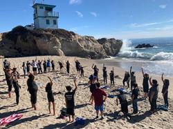 Yoga on the beach3