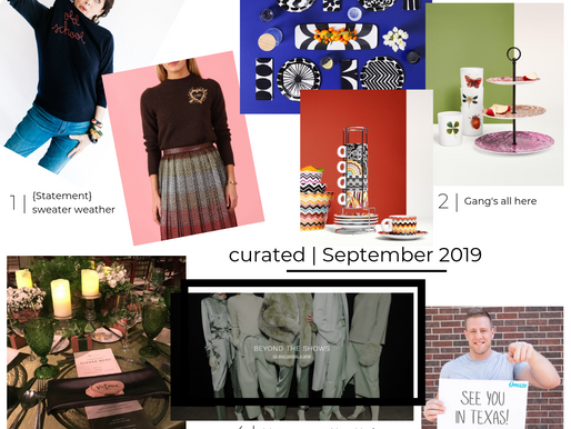 CURATED GUIDE | SEPTEMBER 2019