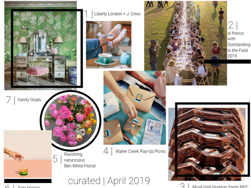 curated guide | april 2019