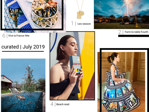 CURATED GUIDE | JULY 2019