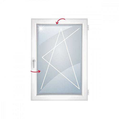 Окно пластиковое КБЕ 58 поворотно-откидная створка