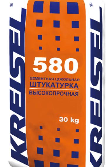 Высокопрочная цементная цокольная штукатурка SOCKELPUTZ 580