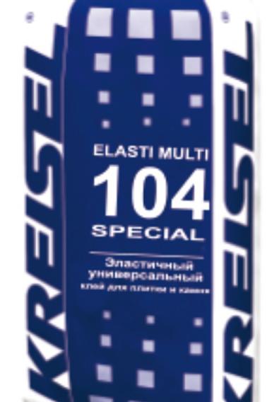 Эластичный универсальный клей для плитки ELASTI MULTI 104