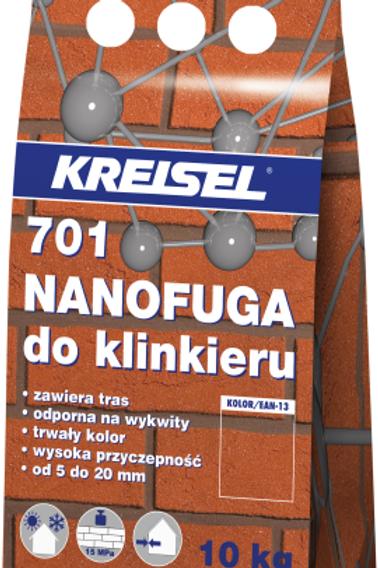 Затирка для клинкерной облицовки FUGA 701 (6 цветов)