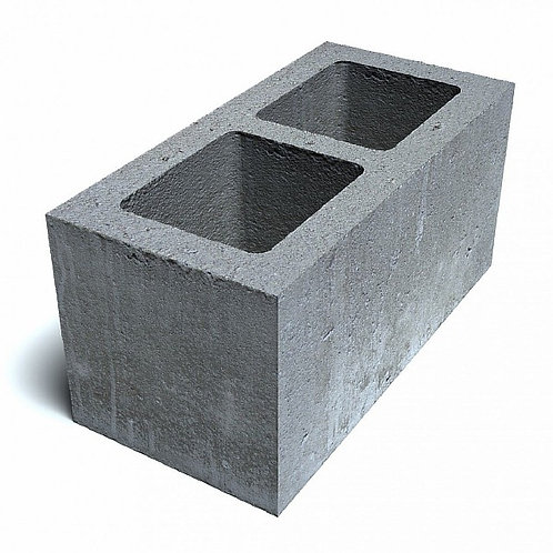 Пескоцементный блок пустотелый 390х190×188 мм