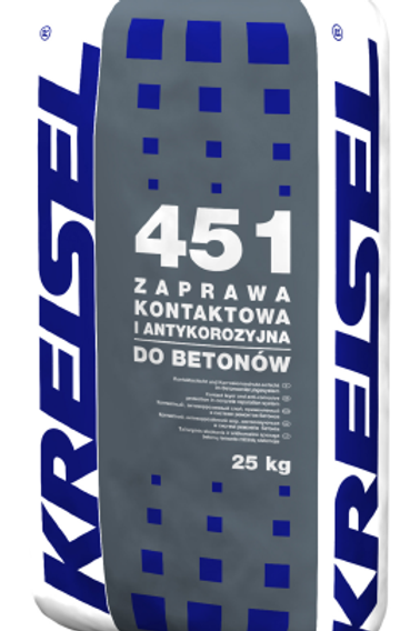 Адгезионная и антикоррозионная смесь в системе ремонта бетонов ZAPRAWA 451