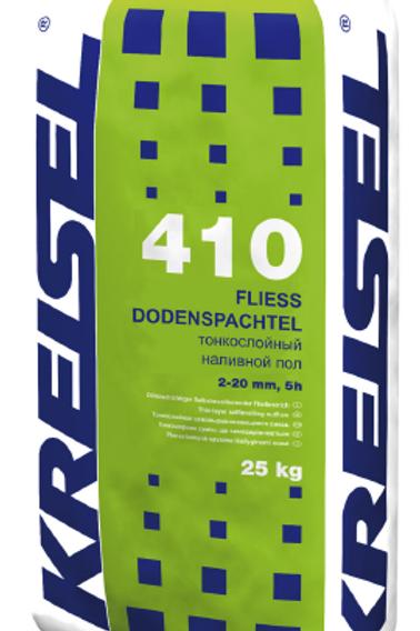 Тонкослойный самовыравнивающийся пол 5ч (2 - 20 мм) FLIESS-BODENSPACHTEL 410