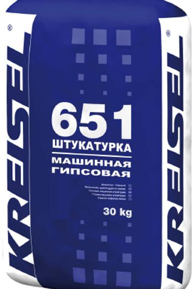 Машинная гипсовая штукатурка GIPS-MASCHINENPUTZ 651