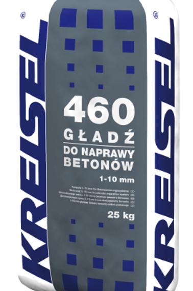 Ремонтная шпатлевка 1 - 10 мм в системе ремонта бетонов GŁADŹ 460