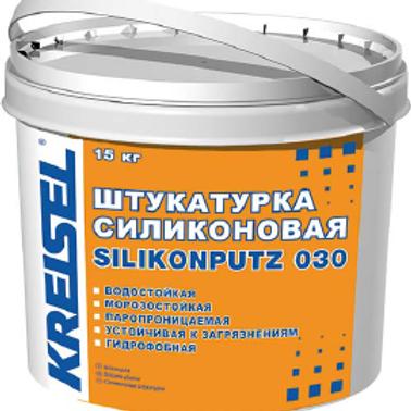 Штукатурка силиконовая SILIKONPUTZ 030