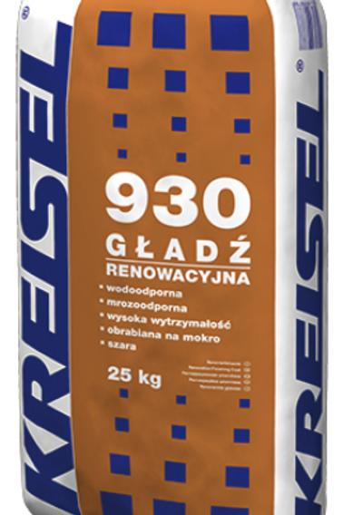 Реставрационная изветково-цементная шпаклевка GŁADŹ RENOWACYJNY 930