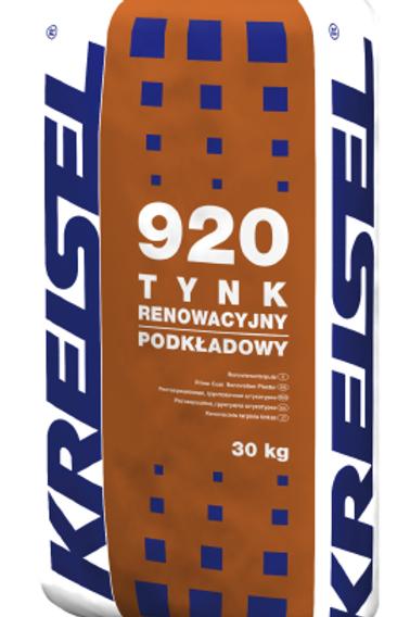 Реставрационная изветково-цементная шпаклевка TYNK RENOWACYJNY PODKŁADOWY 920