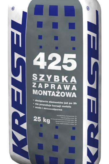 Быстросхватывающаяся монтажная смесь SZYBKA ZAPRAWA MONTAŻOWA 425