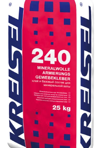 Клей для плит из минеральной ваты MINERALWOLLE-ARMIERUNGS-GEWEBEKLEBER 240