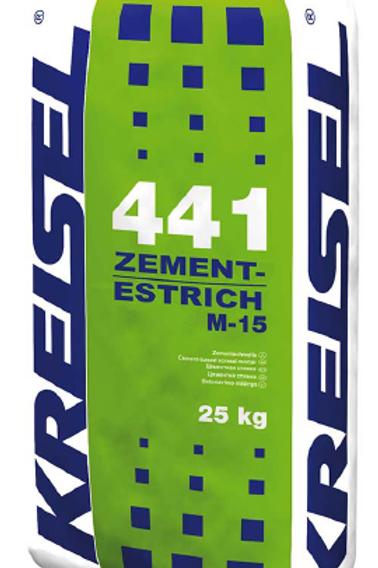 Цементная стяжка М-15 ZEMENT-ESTRICH M-15 441