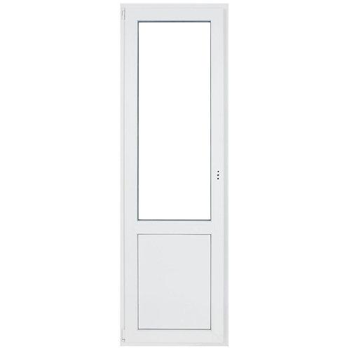 Дверь  пластиковая  КБЕ 58 поворотная створка