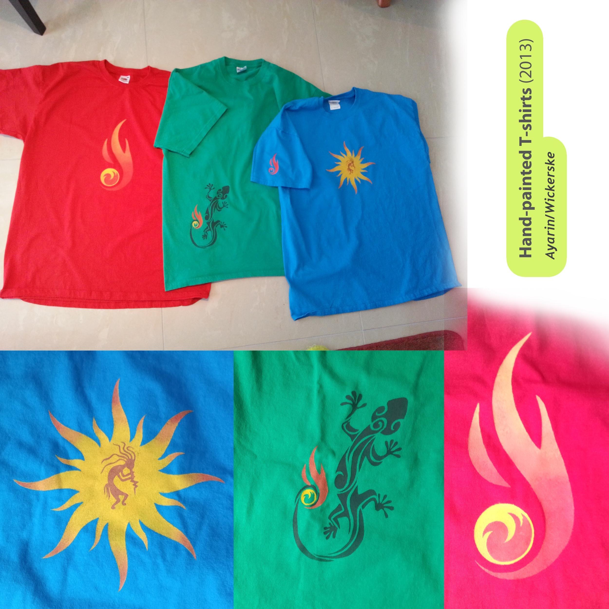 RGB shirts (2013)