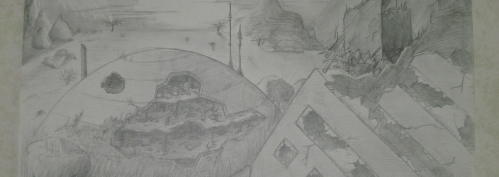 Post-apocalyptic landscape (2009)
