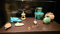 Houseware ceramics, probably from ancient settlements of Northern tribes in Egypt