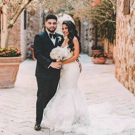 Lejuan james  and Camila wedding