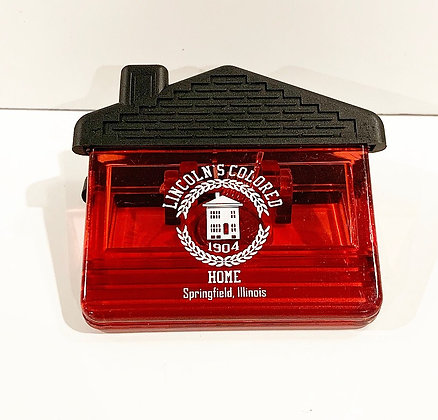 Lincoln Colored Home Clip Magnet