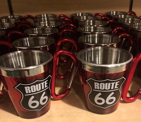 Route 66 Key Chain Shot Glass