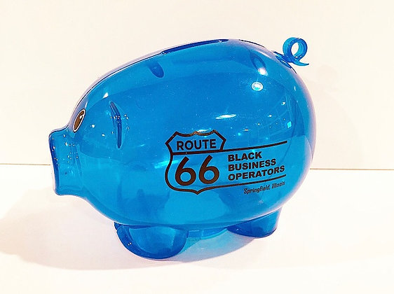 Black Business Operators Piggy Bank
