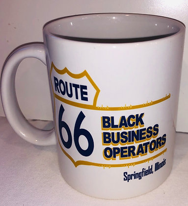 Route 66 Black Business Operators Coffee Mug