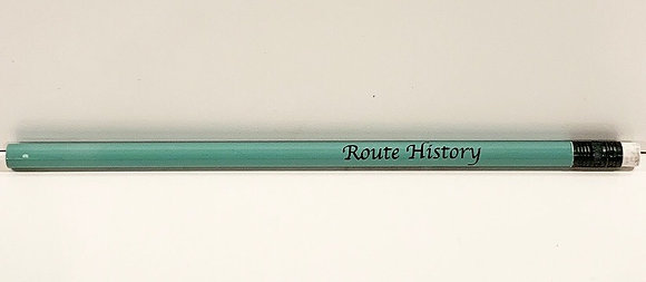 Route History Pencil