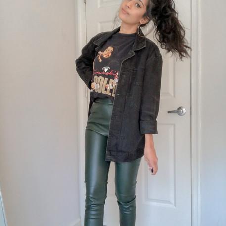 3 Ways to Style An Oversized Denim Jacket